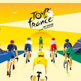 Tour de France 2021 arrivée à Saint-Lary-Soulan le 14/07/21